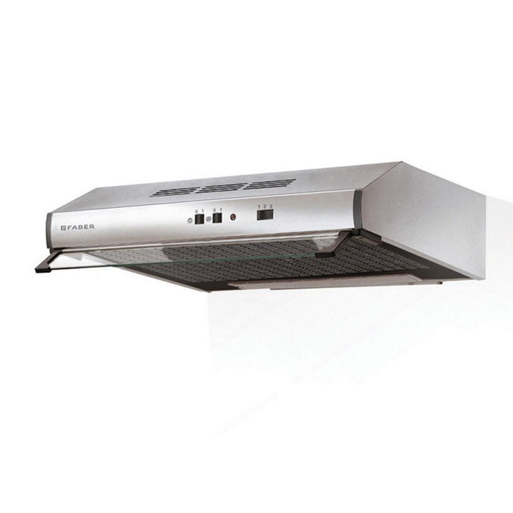 Kitchen hood 2740 cm 90 stainless steel 2 motors 110.0330.699 under-cabinet Faber