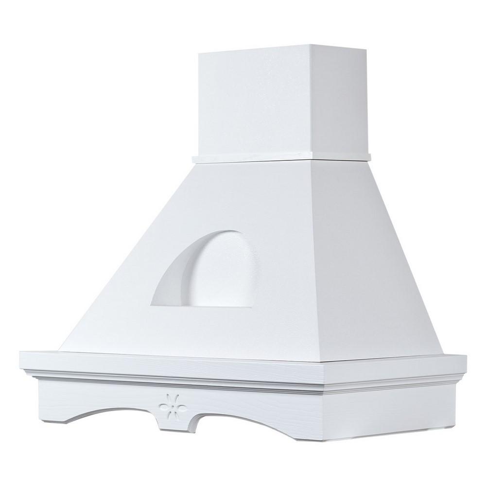 Hood Kitchen AGNY 90 white milk, C/Small niche white, MOT. B52 Coppari - motore Faber