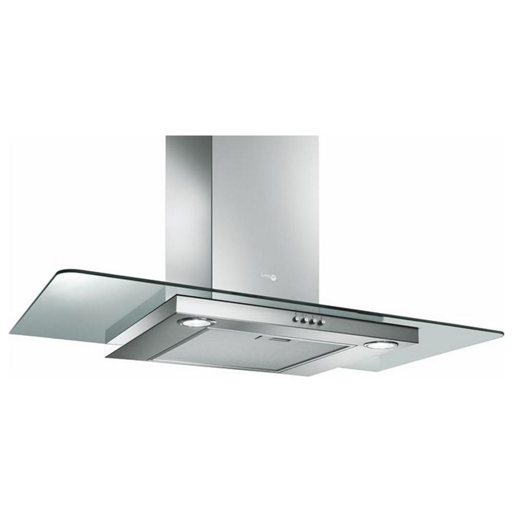 Cappa cucina SEMPIONE inox vetro 90 aspirante filtrante - Turboair ...
