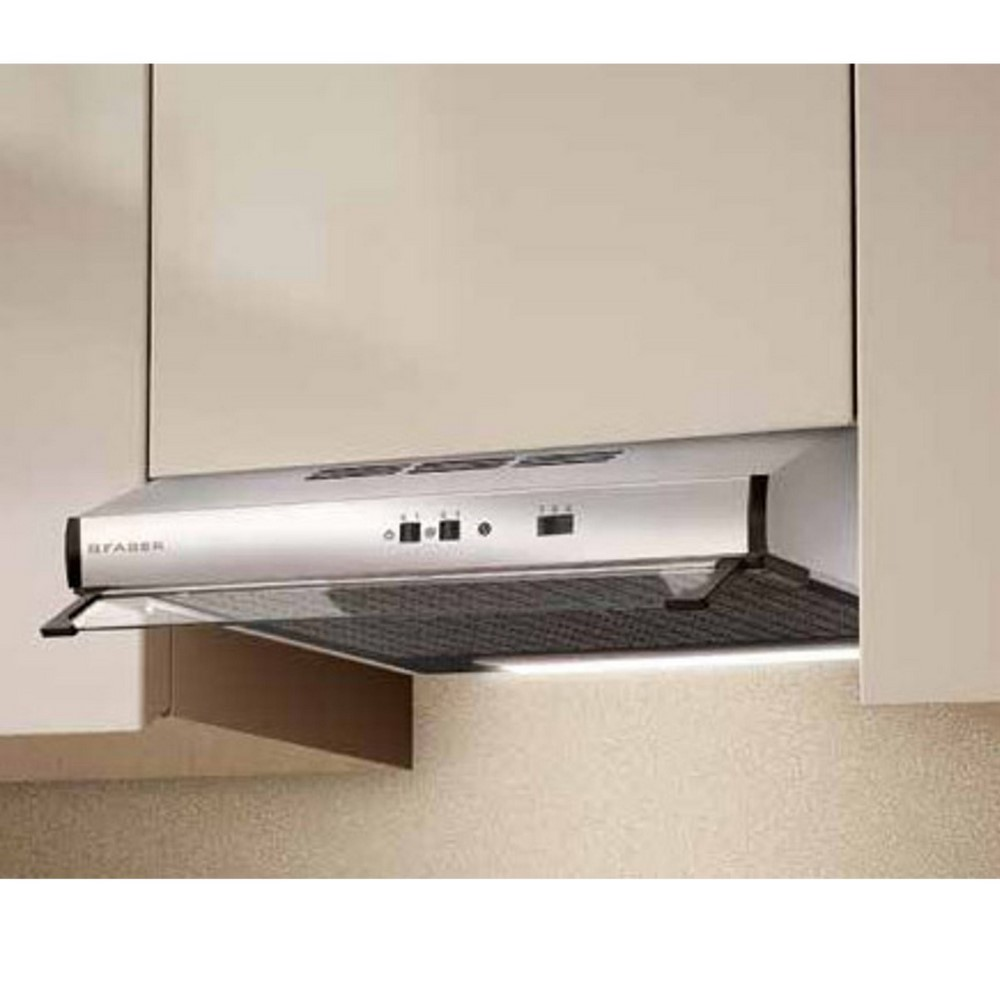 2740 X A60 kitchen hood cm 60 stainless steel underclass cod. 110.0330.697